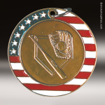 Medallion Stars & Stripes Series Baseball Medal Stars & Stripes Medallion Awards