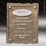Engraved Plaque Resin Stone Floating Acrylic Award Stone Awards