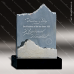 Black Canyon Slate Stone Summit Mountain Trophy Award Stone Awards