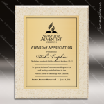 Engraved Stone AcrylaStone Metal Plate Plaque Sandstone Award Stone Awards