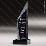 Stone Black Marble Accented The Metroscape Trophy Award Stone Marble Accented Trophy Awards