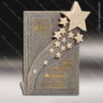 Stone Star Streams Moonstone SandstoneTrophy Award Stone Marble Finish Plaques