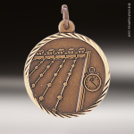 Medallion Sunray Series Swimming Medal Sunray Medallion Medals