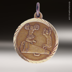Medallion Sunray Series Cheerleading Medal Sunray Medallion Medals