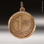 Medallion Sunray Series 1st Place Medal Sunray Medallion Medals