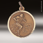 Medallion Sunray Series Football Medal Sunray Medallion Medals