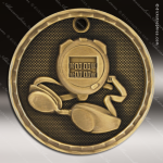Medallion 3D Series Swimming Medal Swimming Medals