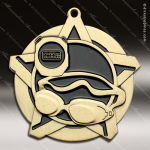 Medallion Super Star Series Swim Medal Swimming Medals