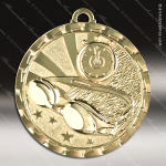 Medallion Brite Gold Series Swimming Medal Swimming Medals