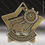 Medallion Star Series Swimming Medal Star Swimming Medals