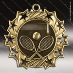 Medallion Ten Star Series Tennis Medal Tennis Medals