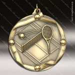 Medallion Wreath Cast Series Tennis Medal Tennis Medals