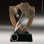 Kids Resin Academy Shield Series Badminton Trophy Awards Tennis Trophy Awards