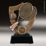 Kids Resin Academy Shield Series Tennis Trophy Awards Tennis Trophy Awards