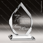 Crystal  Clear Diamond Classic Trophy Award Topmost Prism Crystal Trophy Awards
