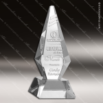 Crystal  Clear Diamond Prestige Excellence Trophy Award Topmost Prism Crystal Trophy Awards