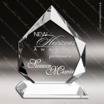 Crystal  Clear Diamond Prestige Trophy Award Topmost Prism Crystal Trophy Awards