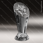Crystal  Spotlight Trophy Award Toujours Series Crystal Trophy Awards