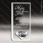 Crystal  Ice Diamond Trophy Award Toujours Series Crystal Trophy Awards