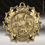 Medallion Ten Star Series Track & Field Medal Track Running Medals