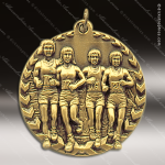 Medallion Millennium Series Track Cross Country Medal Track Running Medals