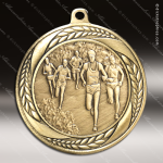 Medallion Laurel Wreath Series Cross Country Medal Track Running Medals
