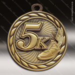 Medallion Sculpted Series 5K Running Medal Track Running Medals