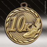 Medallion Sculpted Series 10K Running Medal Track Running Medals