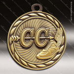 Medallion Sculpted Series Cross Country Medal Track Running Medals