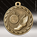 Medallion Sculpted Series Track Medal Track Running Medals