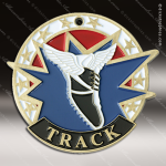 Medallion USA Sport Series Track Cross Country Medal Track Running Medals