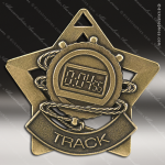 Medallion Star Series Track Cross Country Medal Star Track Running Medals