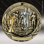 Medallion Tri-Colored Series Track Cross Country Medal Track Running Medals