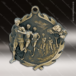 Medallion Wreath Series Track Cross Country Medal - Male Track Running Medals