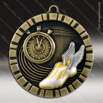 Medallion 3D IM Series Track Cross Country Medal Track Running Medals