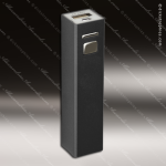 Laser Engraved USB Power Bank Black Gift Award USB Flash Drive Keychains