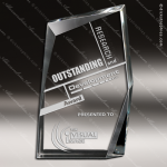 Crystal  Clear Achievement Summit Trophy Award Visions Crystal Trophy Awards