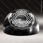 Crystal  Clear Circle Disk Paperweight Trophy Award Visions Crystal Trophy Awards