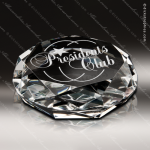 Crystal  Ambition Diamond Paperweight Trophy Award Visions Crystal Trophy Awards