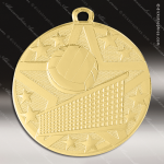 Medallion Superstar Series Volleyball Medal Volleyball Medals