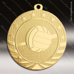 Medallion Starbrite Series Volleyball Medal Volleyball Medals