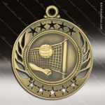 Medallion Galaxy Series Volleyball Medal Volleyball Medals