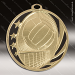 Medallion MidNite Series Volleyball Medal Volleyball Medals