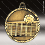 Medallion High Relief Series Volleyball Medal Volleyball Medals