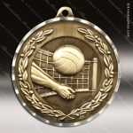 Medallion Diamond Edge Series Volleyball Medal Volleyball Medals