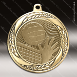 Medallion Laurel Wreath Series Volleyball Medal Volleyball Medals