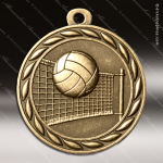 Medallion Sculpted Series Volleyball Medal Volleyball Medals