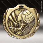 Medallion Burst Series Volleyball Medal Volleyball Medals