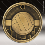 Medallion 3D Series Volleyball Medal Volleyball Medals