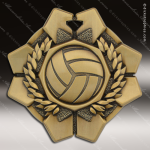 Medallion Imperial Series Volleyball Medal Volleyball Medals